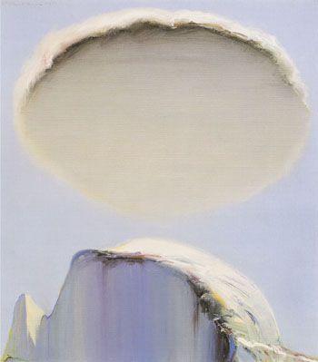 Wayne Thiebaud landscape Cloud?