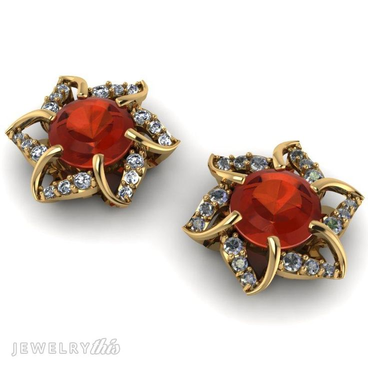 1000+ Images About 3D Jewelry Earring Designs On Pinterest