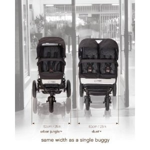 Mountain Buggy Duet Stroller -the slimmest side-by-side double stroller on the market!