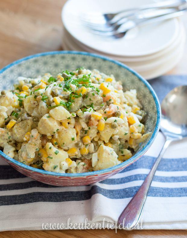Goddelijke aardappelsalade - Keuken♥Liefde