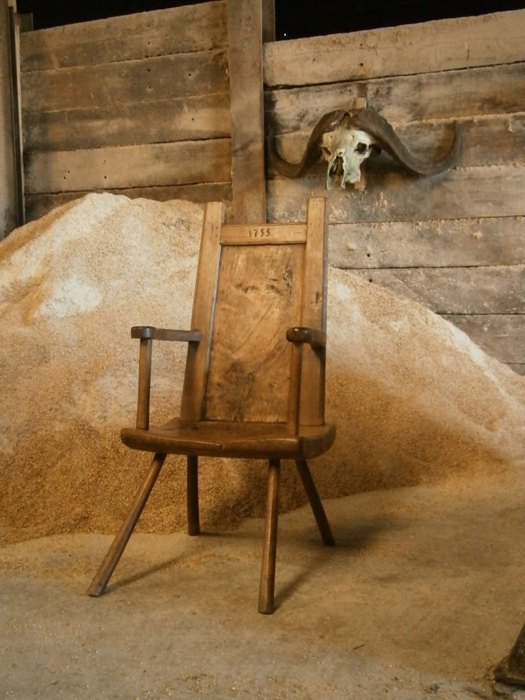 Scottish 18th Century Primitive Chair A Rare Chair From The Isle Of Lewes