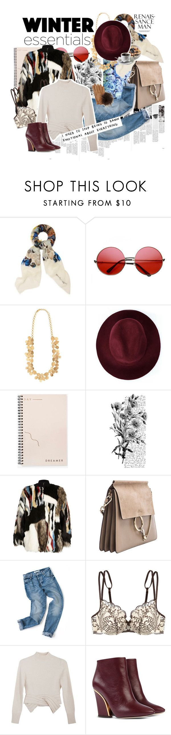 """Cold!!"" by santita ❤ liked on Polyvore featuring Alexander McQueen, INDIE HAIR, Zoja, Redopin, Bing Bang, Pennyblack, River Island, Elle Macpherson Intimates, Maryam Nassir Zadeh and Chloé"