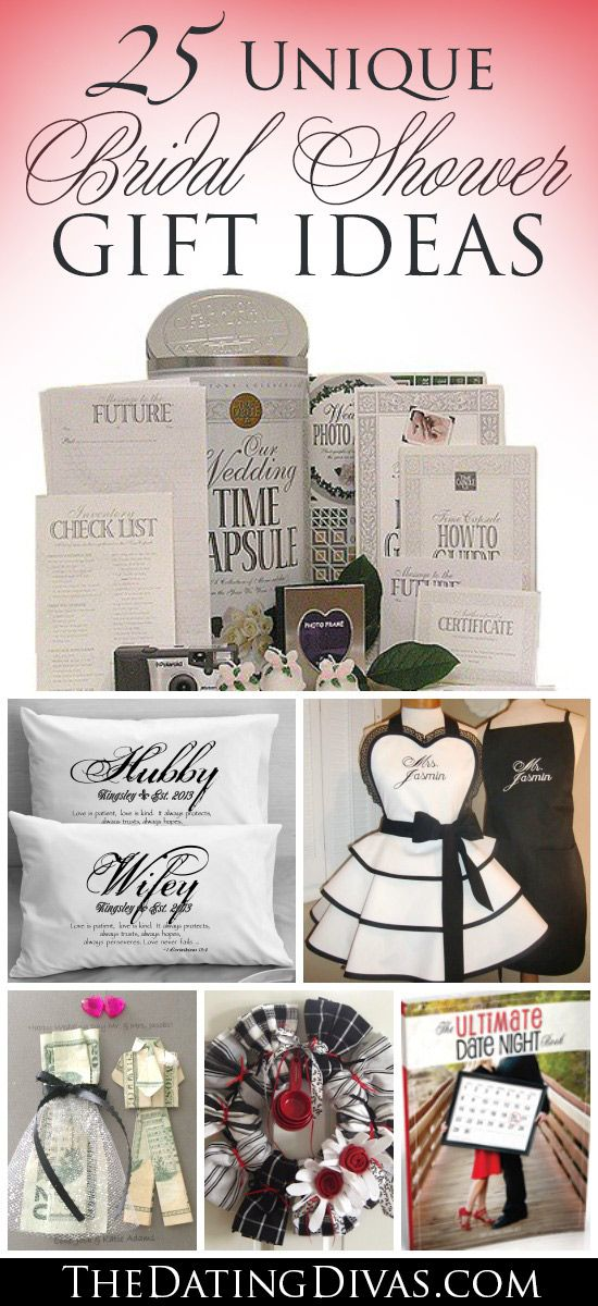 Lots of unique and meaningful bridal shower and wedding gifts. This has some…