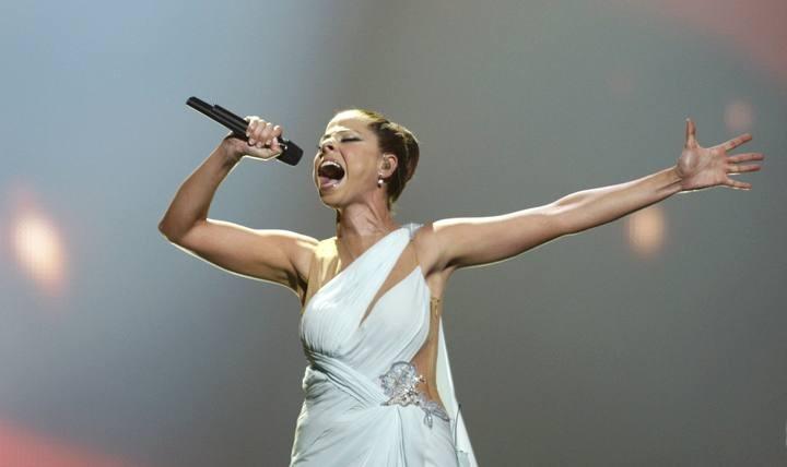 Gran actuación de Pastora Soler en Eurovisión. Más fotos y vídeos en http://www.rtve.es/eurovision
