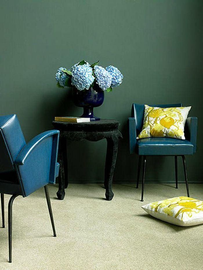 farbgestaltung wände wandfarbe ideen wandgestaltung wohnzimmer