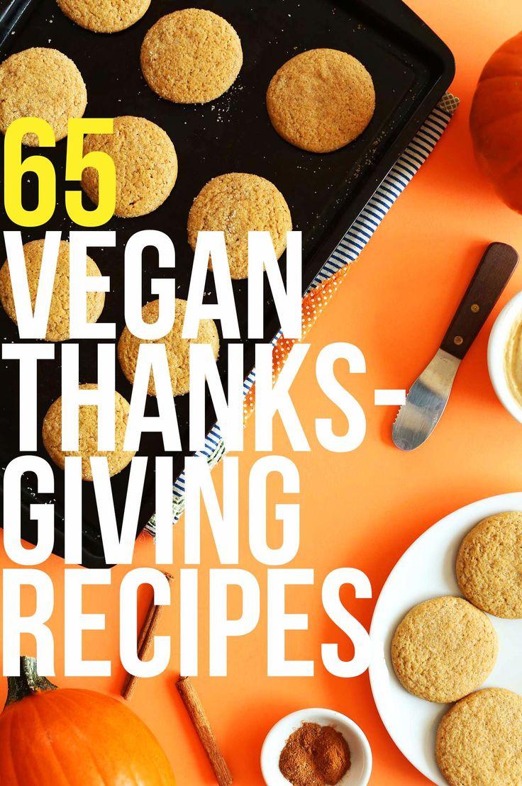 65 Vegan Thanksgiving Recipes! #vegan #thanksgiving