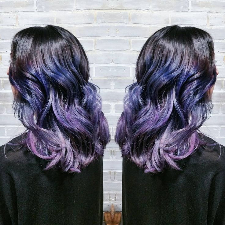 Dark Periwinkle Ombre Hair Lavender And Purple Ombre