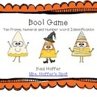 There are instructions for two games. The cards have numerals, number words and ten frames. Your students will LOVE playing these games.It focus...