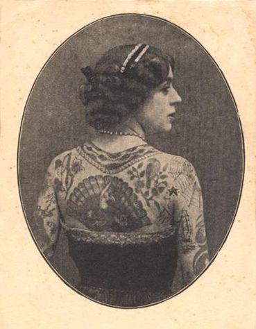 Vintage Tattooed Lady