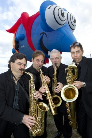 Sax Appeal Ottawa is pleased to once again be performing at the Gatineau Hot Air Balloon Festival / Festival de montgolfières de Gatineau during the morning launches on August 31, September 1 and 2!