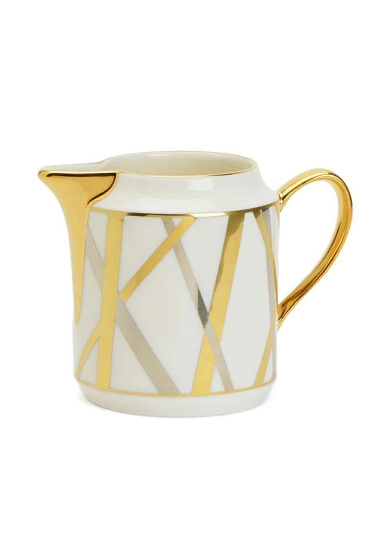 Yellow sugar bowls with lids - Mulholland Creamer