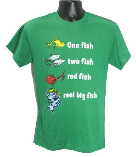 One Fish Two Fish tee - green