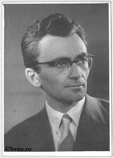 """Gheorghe Tohăneanu, Timişoara, 1963. Imagine din colecțiile Bibliotecii """"V.A. Urechia"""" Galați."""
