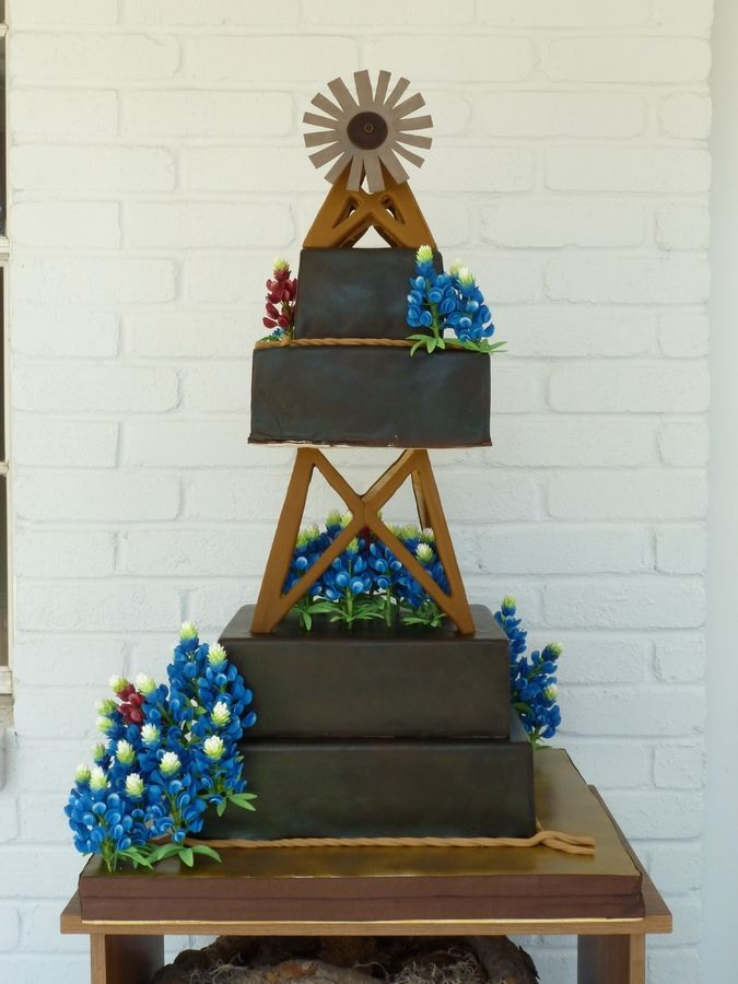 Cake Decorating Classes Grapevine Tx : 74 best Windmill Cakes images on Pinterest