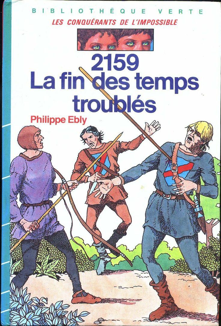 Philippe Ébly Hachette Bibliothèque Verte 1986