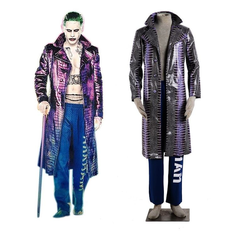 Cheap suit jacket, Buy Quality cosplay sword directly from China suit handkerchief Suppliers: Batman Series Movie Suicide Squad The Joker Jack Joseph Cosplay Costume Psycho Killer Joker Man Costume Coolest Cosplay Suit