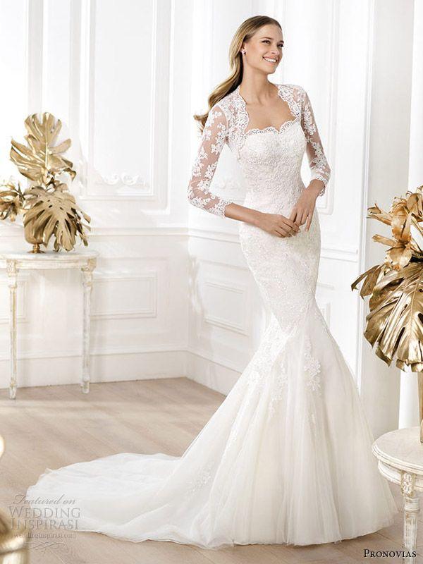 Pronovias 2014 Pre-Collection Wedding Dresses — Fashion Bridal Collection | Wedding Inspirasi