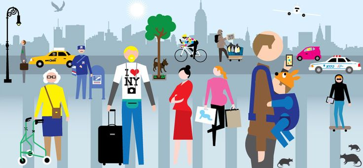 """Mayor Bloomberg's """"GEEK SQUAD"""" solving NYC's problems using data - New York City Data Illustration by QuickHoney"""