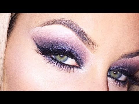 Smoky Purple Eye - See how Chrisspy created this purple smoky eye that we can't get enough of here at #UDHQ! #UrbanDecayCosmetics