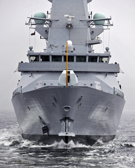 New Type 45 Destroyer HMS Duncan Begins her Sea Trials by Defence Images, via Flickr