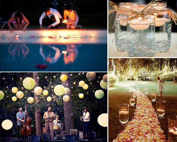 Buitenfeest op je bruiloft