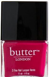 A bright, happy, hot pink nail lacquer.