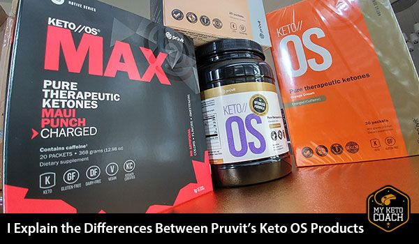 A clear comparison and explanation of the differences between Pruvits Keto OS products. Now find the right product for you. #ketosis