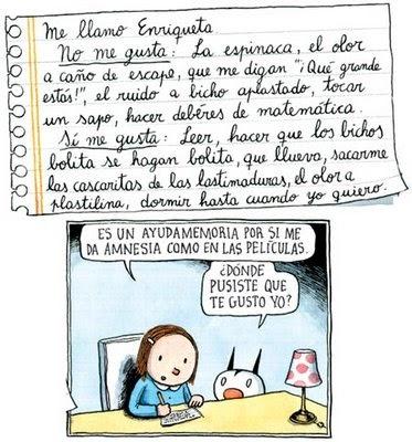 Enriqueta & Fellini (by Liniers) #macanudo