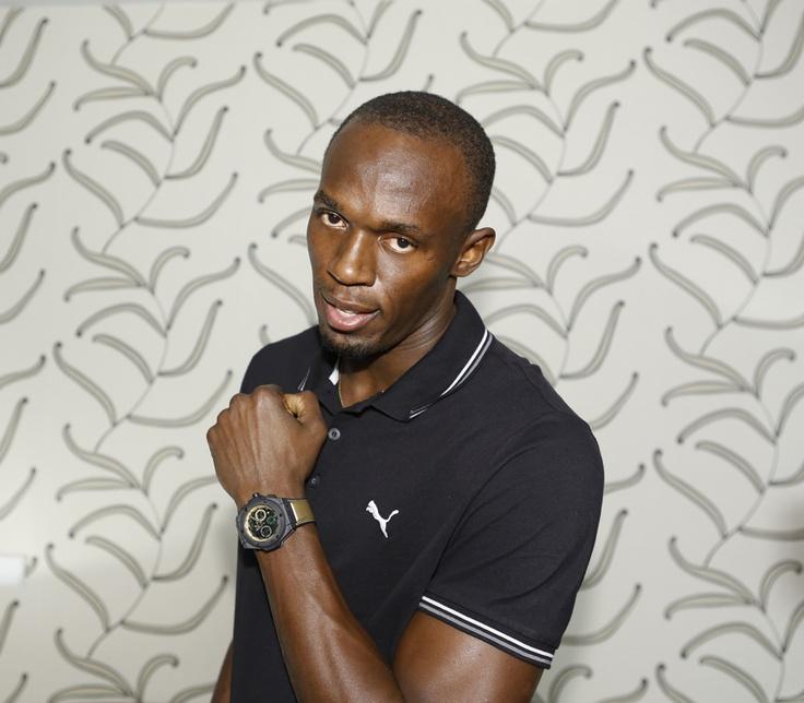 Usain Bolt jeux olympiques montre Hublot King Power copyright Hublot 2012