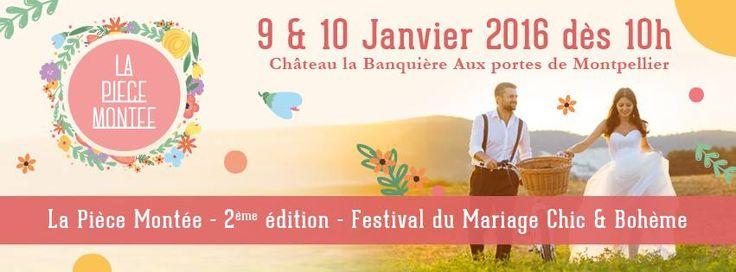 La Pièce Montée, Festival du mariage chic et bohème à Montpellier  #mariage #wedding #france #boheme #event #salon #festival #montpellier