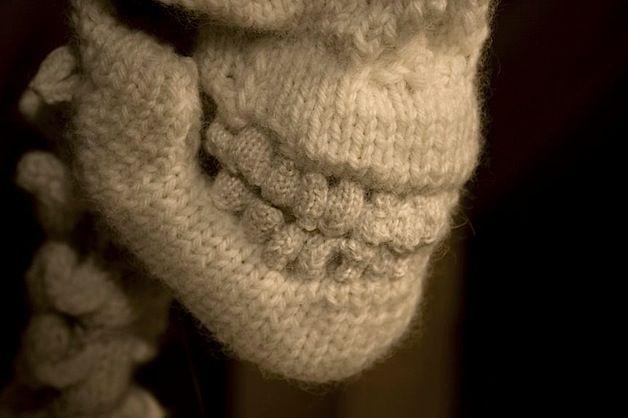 skeleton knitting