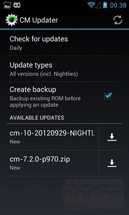 CyanogenMod tým nahradí ROM Manager vlastní aplikací