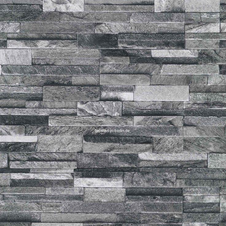 Die besten 25 tapete steinoptik ideen auf pinterest for Tapete backstein grau