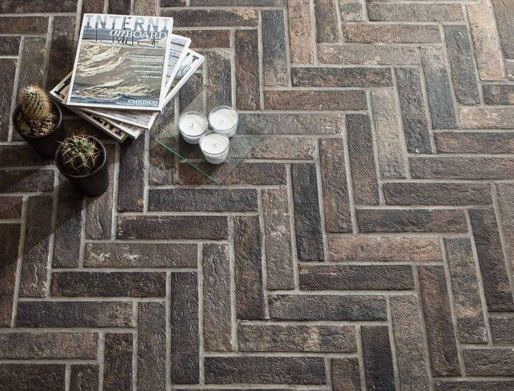 Gres porcellanato effetto pietra ricostruita e laterizio. Scopri mattoni e mattoncini Brick Generation   Ceramica Rondine