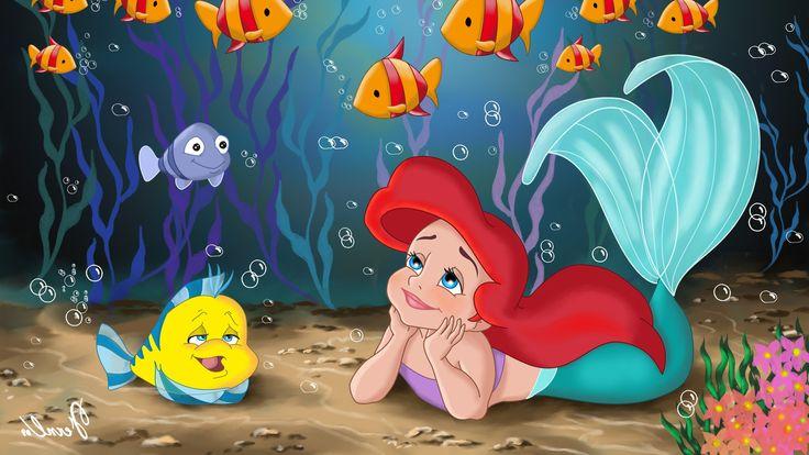 3840x2160 the little mermaid 4k free desktop wallpaper