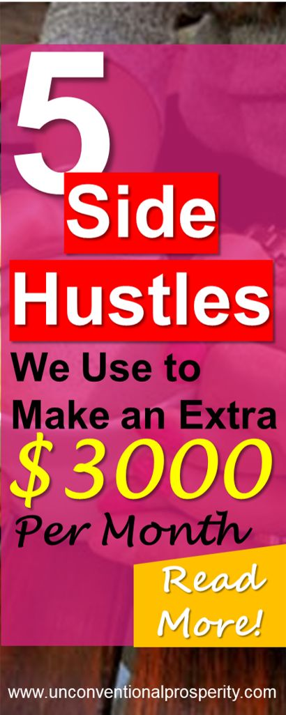 These are the best best side hustles ideas that I used to make over $3000 per month extra cash! Must read if you have ever wanted to learn how to make passive income or a few hundred dollars extra every few days.