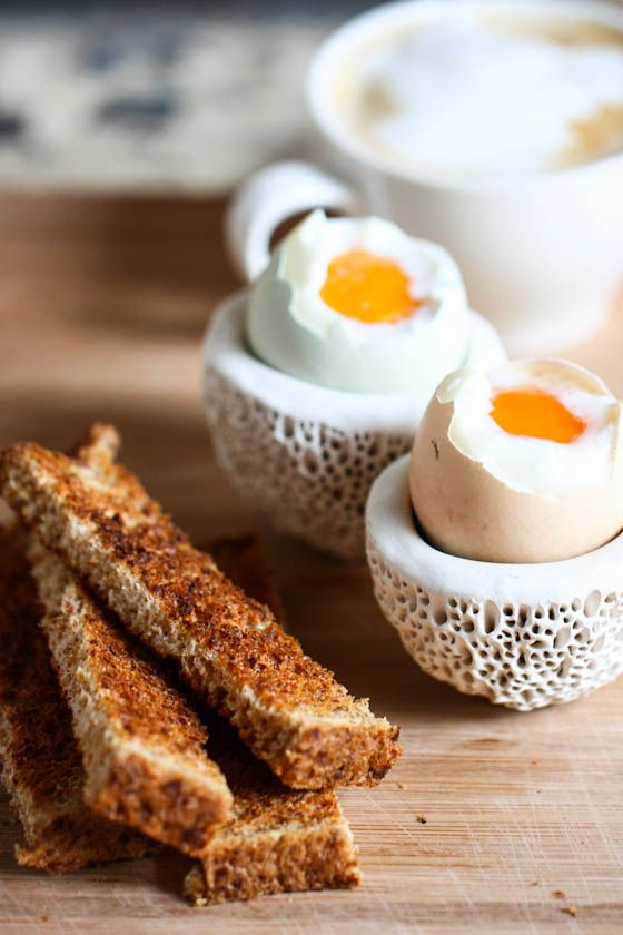 How To Make Perfect Soft-Boiled Eggs - I so enjoy an egg like this . . . eaten leisurely even on a work day makes a calm beginning with a slice of crisp toast and a cuppa tea