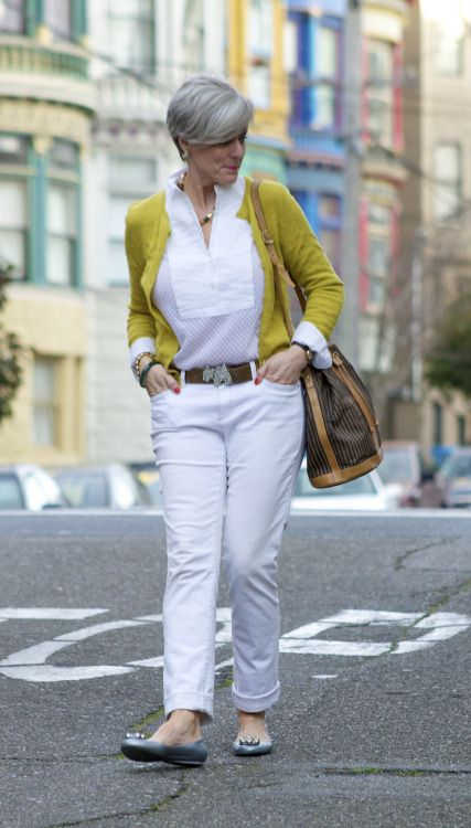 trends come and go, but true style is ageless - outfit post <monday> labels: denim @AnnTaylor;...