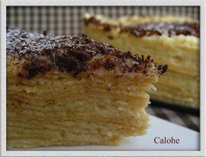 Tarta de obleas (Calohe)