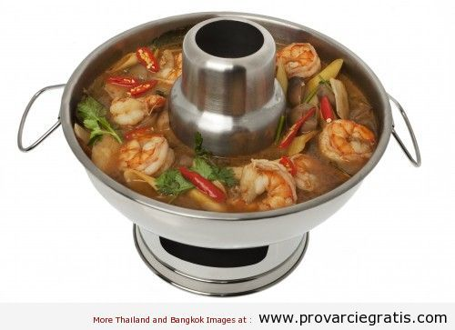 Ricetta Tom Yam Kung , zuppa di gamberi agro-piccante , il piatto piu' famoso della Thailandia - http://www.provarciegratis.com/cucina-thailandese/ricette-cucina-thai/tom-yam/ - by  Pier Sottojox -  #piattithaicongamberi #TomYam #TomYamKung #zuppathai Leggi qui tutto l'articolo http://www.provarciegratis.com/cucina-thailandese/ricette-cucina-thai/tom-yam/