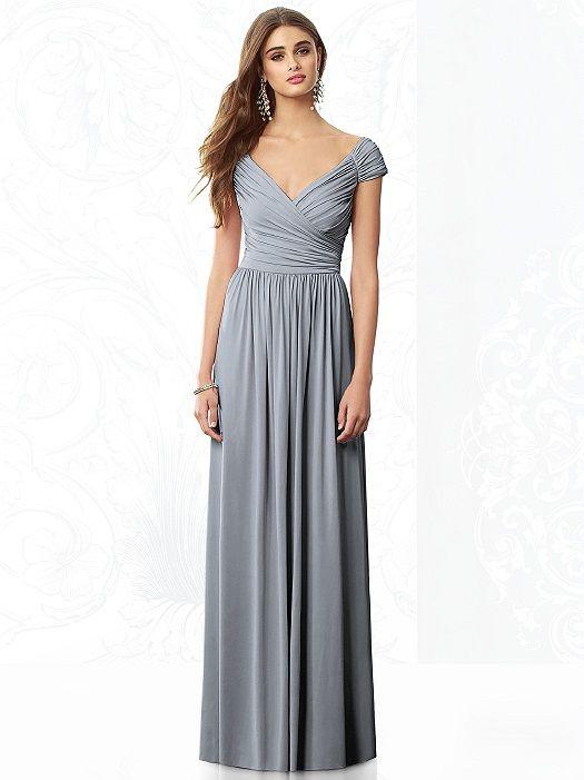 After Six Bridesmaids Style 6697 http://www.dessy.com/dresses/bridesmaid/6697/?color=platinum&colorid=64#.UpAFnaNOm6o