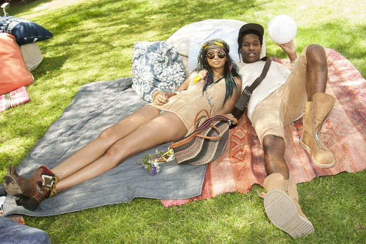 Coachella 2014 Chanel Iman and ASAP Rocky FOLLOW : @EstellaGuerreroGambino  ❤ ✌  EstellaGambino.com