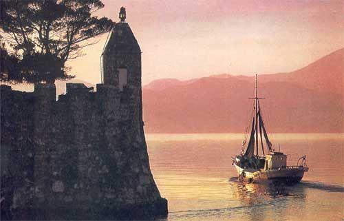 Lighthouse Nafpaktos, Greece