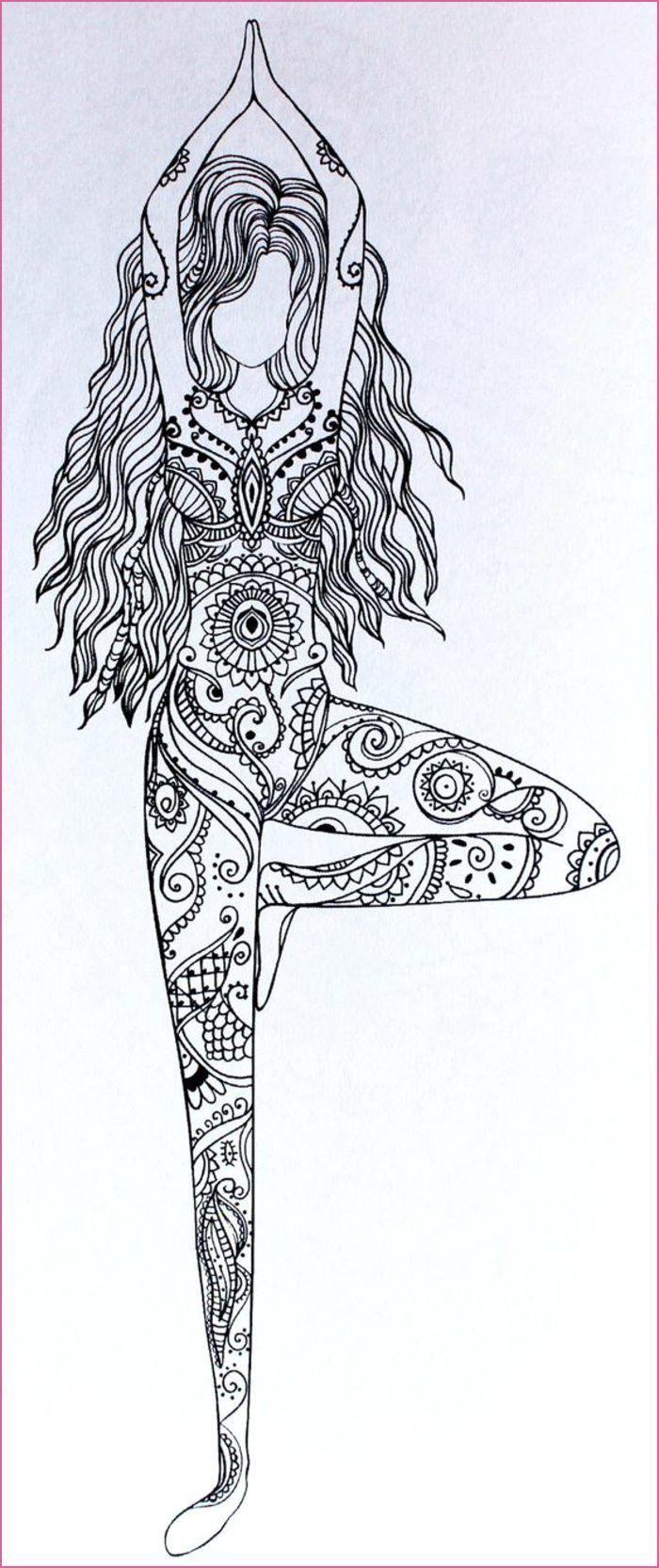 Haaren Langen Madchen Mit Madchen Mit Langen Haaren Madchen Mit Langen Haaren Madchen Mit Lang Mandala Design Art Mandala Drawing Doodle Art Designs