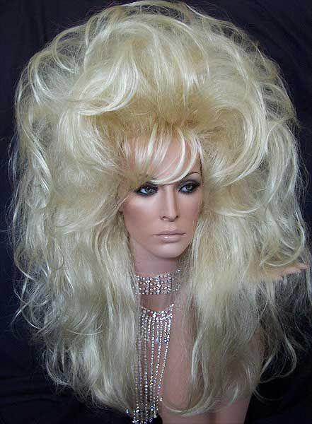 Big Blonde Wigs 11