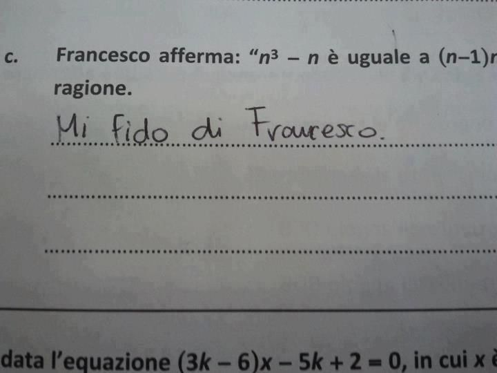 Mi fido di francesco