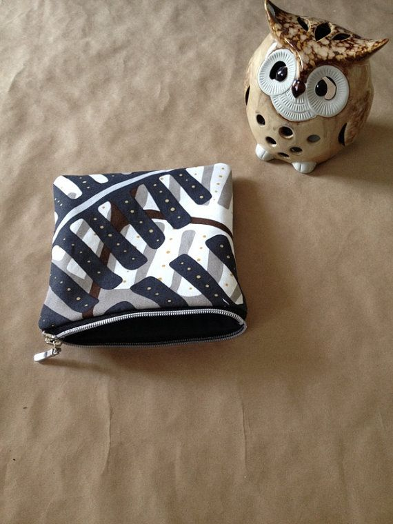 LIMITED-Cosmetic bag made from Ikea fabric by AlannaAccessories