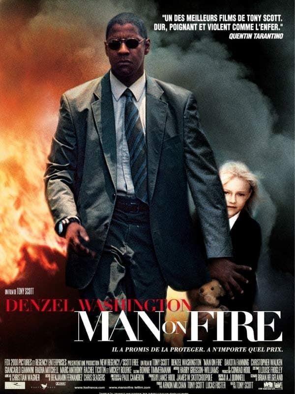 Hd Cuevana Man On Fire Pelicula Completa En Español Latino Mega Videos Líñea Man On Fire Fire Movie Full Movies Online Free