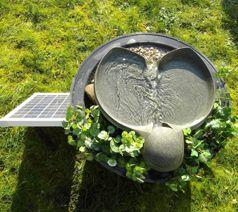 Flowform Solarbrunnen