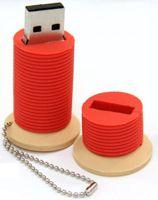 Thread Spool USB Port